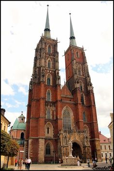 Cathedral In Wroclaw , Poland