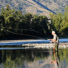 Fishing on the Kettle River (Fishing on the Kettle River (Picture BC photo)