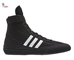 separation shoes 9b8bf 0e098 Adidas Combat vitesse 4 de Catch adulte Bottes - Noir - Noirblanc, -