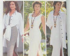 Butterick 3433 Chetta B Pattern Misses' Petite Shirt and Dress, Sewing Pattern, Size 6 - 8 - 10 - 12, UNCUT by vintagecornerbazaar. Explore more products on http://vintagecornerbazaar.etsy.com