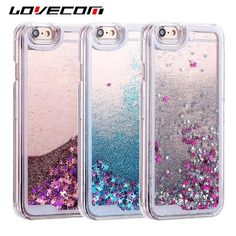 Buy Wallmart.win Glitter Stars Dynamic Liquid Quicksand Pc Hard Back Cover Capa Shells Lovecom For Iphone 6 6s 7 8 P: Vendor: DW Type:…