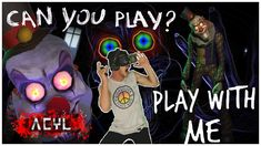 The Scariest Virtual Reality Horror Game Ever ! Samsung Oculus Playing Play with me: Escape Room. Clowns, I'm Not Scared Of Clowns! Virtual Reality Horror, Vr Horror Games, Heart Attack, Clowns, Scary, Gaming, Fictional Characters, Videogames, Imperial Crown