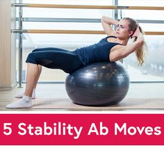 If you're not sure what to do with Swiss balls, read on for five beginner-friendly stability ball exercises that are guaranteed to challenge your core.