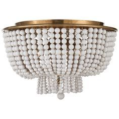 jacqueline flush mount love this wonder if something similar could be diyed with a