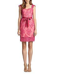 sz 12 Lace Overlay Dress  Maddox 77