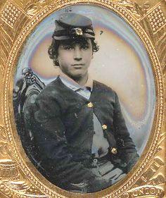 Soldier, Civil War - look how young he is!