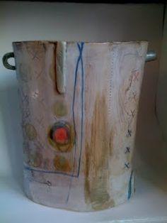 Este macleod stoneware vessel
