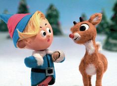 Claymation Rudolph, on the Island of Misfit Toys!  Never gets old.