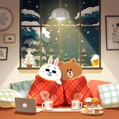 BROWN PIC is where you can find all the character GIFs, pics and free wallpapers of LINE friends. Come and meet Brown, Cony, Choco, Sally and other friends! Cute Love Pictures, Cute Love Gif, Lines Wallpaper, Brown Wallpaper, Cute Illustration, Character Illustration, Line Cony, Cony Brown, Brown Bear