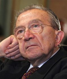 Giulio Andreotti OMI SMOM OCSG OESSH (Italian: [ˈʤuːljo andreˈɔtti]; 14 January 1919 – 6 May 2013) was the 41st Prime Minister of Italy and leader of the Christian Democracy party.
