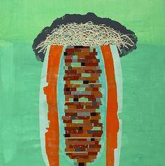 Denys Watkins - No Ordinary Sun Bath Street Gallery Street Gallery, New Art, New Zealand, Sun Bath, Contemporary, Abstract, Painting, Summary, Sun Tanning