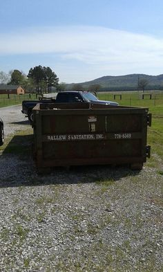This customer had a 20 yd roll-off dumpster onsite today. She called us because there were some things that she couldn't put in the roll-off(physically lift & things the company wouldn't allow). She said our price was comparable to the price of the roll off, but with us all she has to do is point and it gets removed. With the roll-off, she has to load it herself. Let us do the hard work for you!     GSD Junk Hauling 256.735.9494