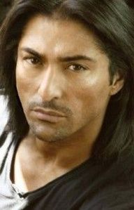 Native American Men - Jay Tavare ...this could make me put down the knitting...