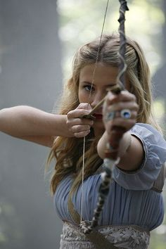 She didn't need anyone else to tell her, she knew she was good at shooting. She knew she could do this.