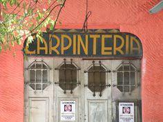 Carpintería en la Condesa.