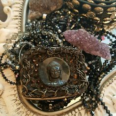 Buddha buckle Comes with a distressed  leather belt  New one of a kind Anthropologie Accessories Belts