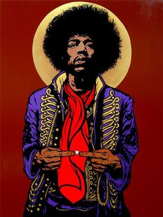 Jimi Hendrix Icon painting by Chris Shaw Acrylic on Canvas, 2010 In early 2010 I created a limited edition screen printed poster for a Hendrix Tribute concert in San Francisco. Music Icon, Art Music, Music Life, Rock Logos, Jimi Hendrix Poster, Historia Do Rock, Arte Punk, Jimi Hendrix Experience, Rock Posters
