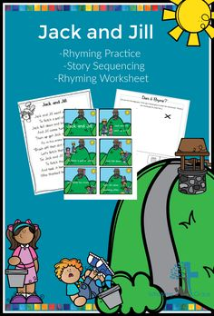 Using the traditional nursery rhyme practice story sequencing and rhyming