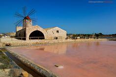 Sicilia Mulini a vento e saline  Trapani