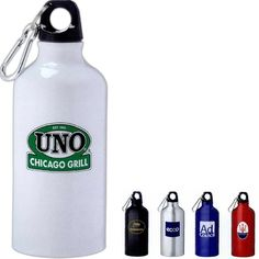 17 ounce BPA Free Aluminum Bottle with carabiner
