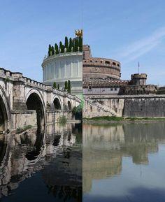 Castel S. Angelo ieri e oggi