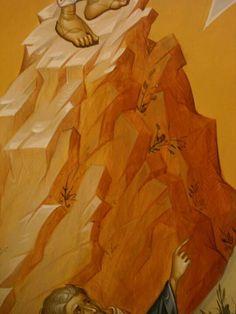 Byzantine Icons, Byzantine Art, The Transfiguration, Jesus Painting, Russian Icons, Art Icon, Painting Process, Orthodox Icons, Christian Art