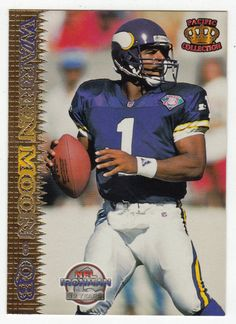 Warren Moon   125 - 1995 Pacific Football. Vikings FootballMinnesota ... f37547727