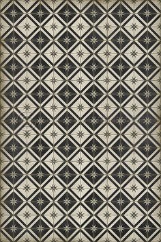 Pura Vida Home Decor - Pattern 20 Stark vinyl floor cloth, $50.00 (http://stores.puravidahomedecor.com/pattern-20-stark-vinyl-floor-cloth/)
