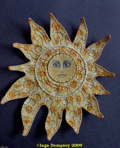Sun Face by Cotton Picker on Flickr
