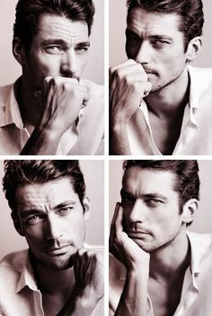 David Gandy - no idea who he is but wow what a strong face, full of character!
