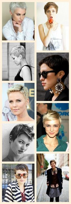 A BEAUTIFUL LITTLE LIFE (Tumblr): Perfect Pixie Cuts for Summer