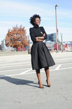 Black 'N Gold – SkinnyHipster #streetstyle