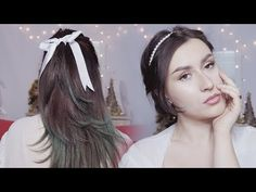 Really, these hairstyles are so easy, but chic, elegant and girly. Perfect for holidays, or any other day. Medium Long Hair, Medium Hair Styles, Long Hair Styles, Easy Hairstyles, Girly, Holidays, Elegant, Chic, Videos