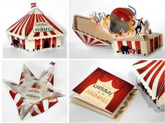 Katherine Blount Illustration: Carnival of the Animals Package Design