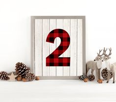 Lumberjack Sign, Lumberjack Decor, Lumberjack Birthday, Two, 2, Lumberjack Party, Buffalo Plaid, Second Birthday, Instant Download Printable by SarahFinnDesign on Etsy