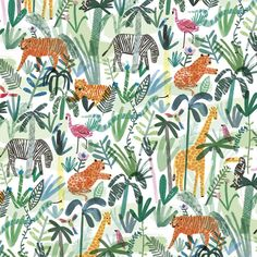 Jungle Animals Wrapp