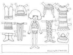 Miss Missy Paper Dolls: vintage Barbie Drawing Guide