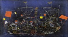 Das Abenteuerschiff. 1927 - Paul Klee