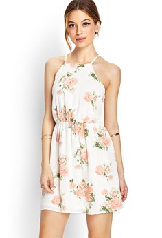 Blooming Floral Fit  Flare Dress | FOREVER21 - 2000069885