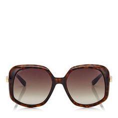 7f1b2a5b6d Designer Sunglasses | Oversized & Aviator Sunglasses | JIMMY CHOO. La Habana Gafas De Sol ...