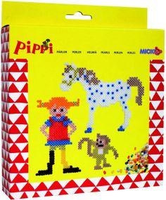 Pippi Langstrumpf 44.3697.00 - Pippi Bügelperlen 2.000 Perlen: Amazon.de: Spielzeug