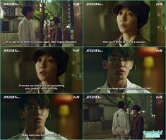 su hyeon made a promise with hui young he should do everything in his next life which he couldn't do in this life - Chicago Typewriter: Episode 13 korean Drama