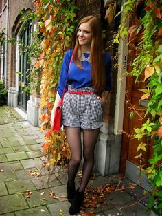 Outfit | Bright Coloured Fall - Without jacket - More on http://www.redsonjafashion.com