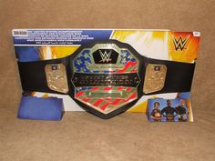 WWE United States Championship Champion Belt By Mattel