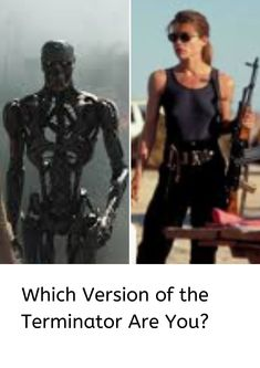 Get ready for Terminator: Dark Fate with our Terminator quiz! Find out which version of the Terminator matches your personality. Famous Celebrities, Beautiful Celebrities, Celebs, Dad Jokes, Funny Jokes, Hilarious, Weird Facts, Fun Facts, Eye Roll
