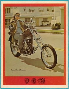 Old School Easyriders magazine– before it became a real POS.