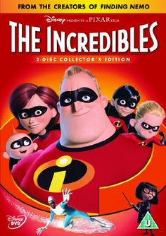 The Incredibles 2-disc Collector's Edition DVD 2004: Amazon.co.uk: Craig T. Nelson, Samuel L. Jackson, Holly Hunter, Jason Lee, Dominique Louis, Teddy Newton, Jean Sincere, Eli Fucile, Maeve Andrews, Wallace Shawn, Spencer Fox, Lou Romano, Brad Bird, Bud Luckey, Roger Gould, Bosco Ng, Mark Andrews, Rob Gibbs: Film & TV