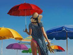 Umbrella Art, Under My Umbrella, Paul Kelly, Creation Photo, Fashion Artwork, Anna Maria Island, Arte Pop, Pretty Photos, Canadian Artists