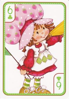 SSC Playing Cards - Best Deck - 5 Strawberry Shortcake Characters, Vintage Strawberry Shortcake, Childhood Toys, Childhood Memories, Paper Dolls Printable, Cool Deck, Rainbow Brite, Holly Hobbie, 80s Kids