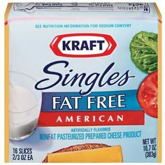 Low Fat Low Carb, Maps, American Cheese, Food Staples, Kraft Recipes,